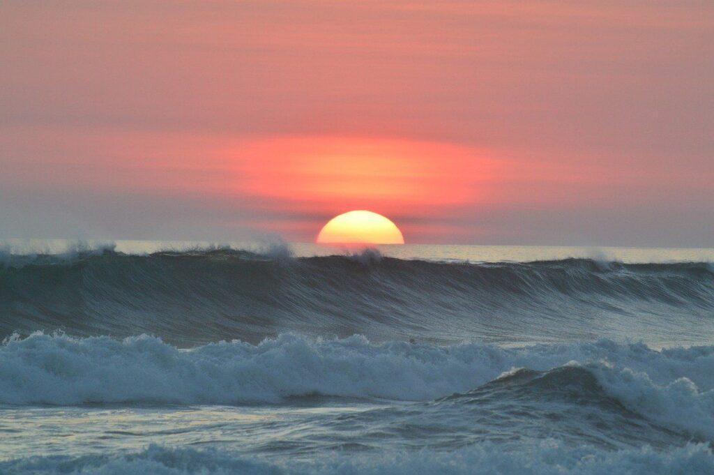 Les vagues du Costa Rica